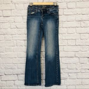 Zana Di Jeans | Medium Washed Straight Leg